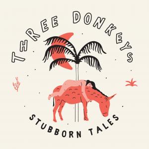 Three Donkeys Logo with Girl